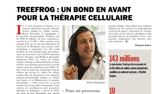 biotech finances treefrog therapeutics