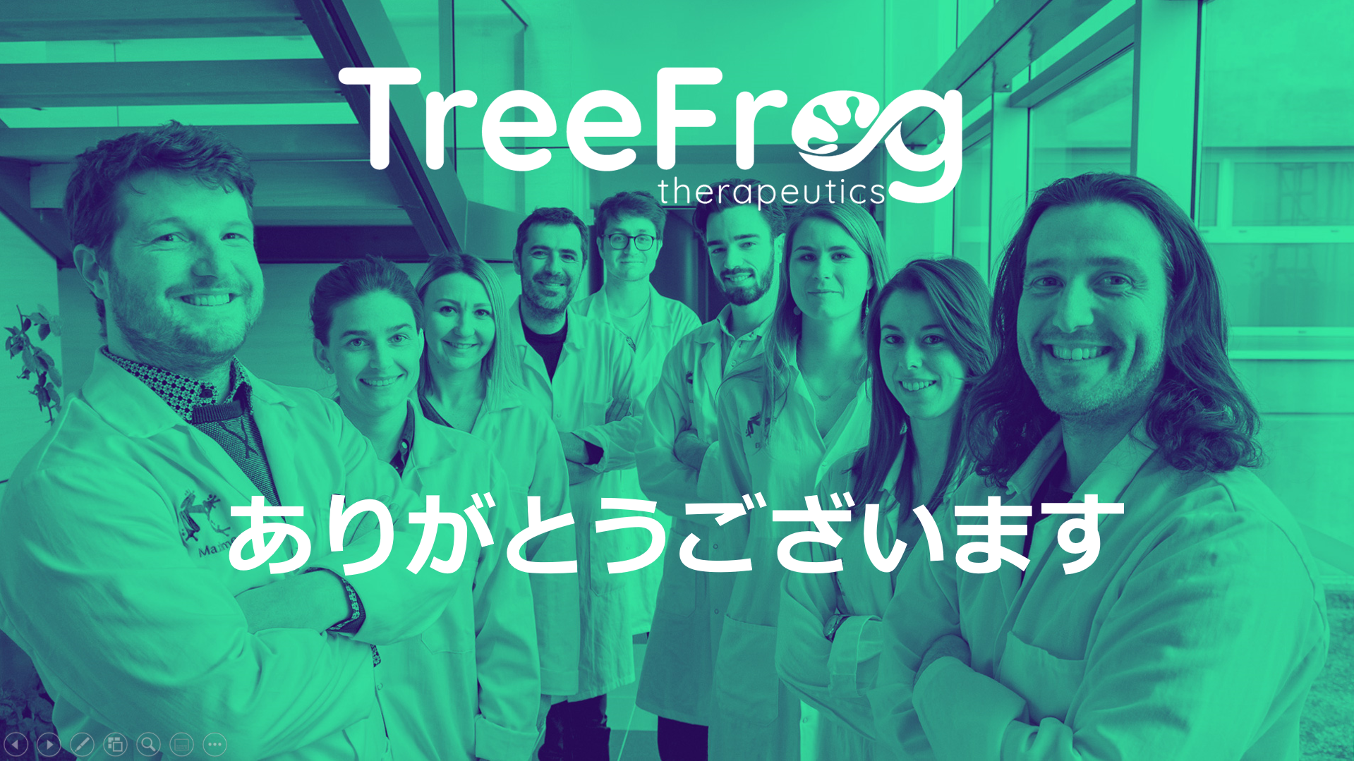 treefrog therapeutics japanese