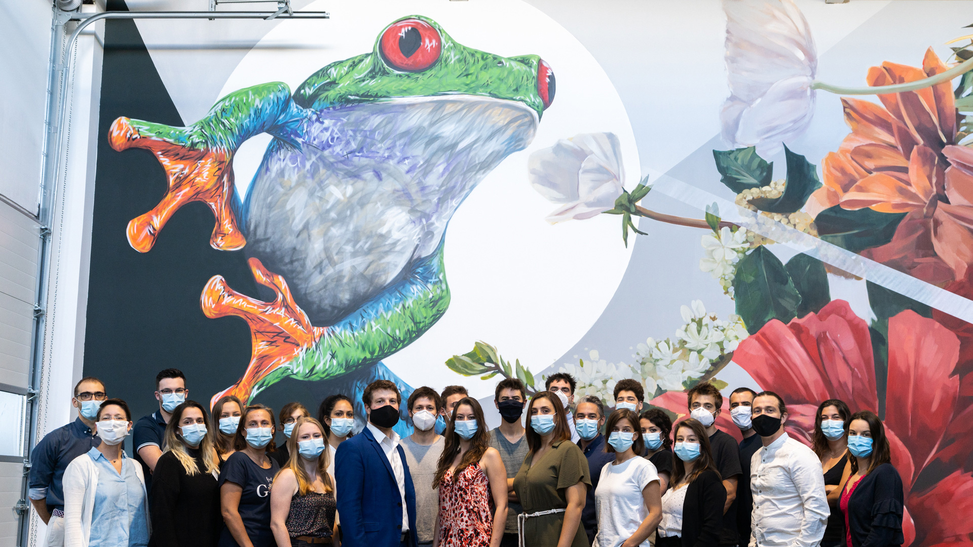 TreeFrog Therapeutics Team 2020