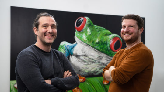 Maxime Feyeux and Kevin Alessandri TreeFrog Therapeutics Prix Galien MedStartup-web