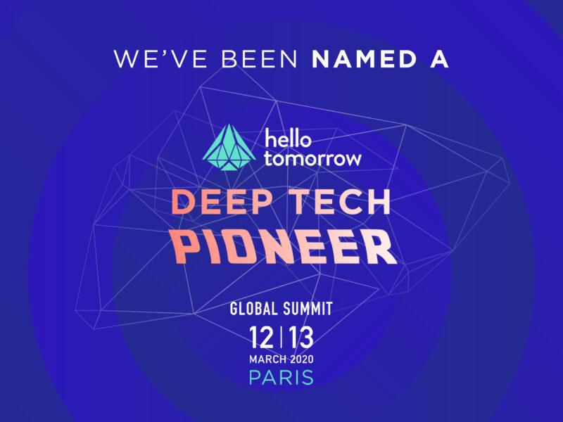 TreeFrog named Deep Tech Pioneer