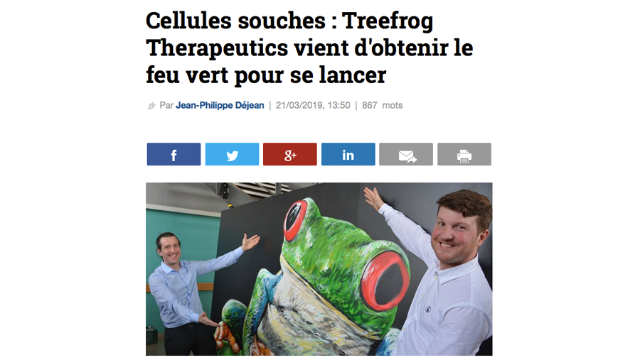 la-tribune-treefrog-therapeutics-press-article