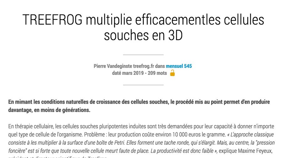 treefrog-press-article-la-recherche